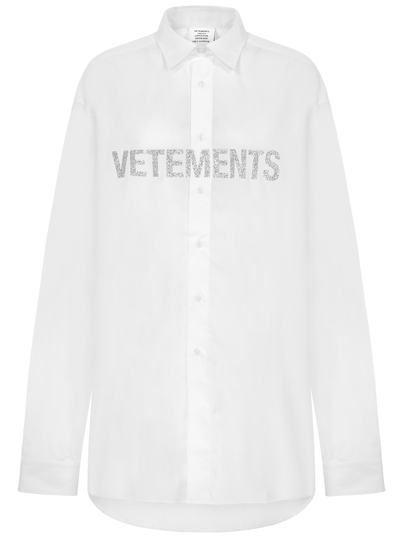 Camicia Vetements Vetements   -1043906350   UAH21SH067WHITE