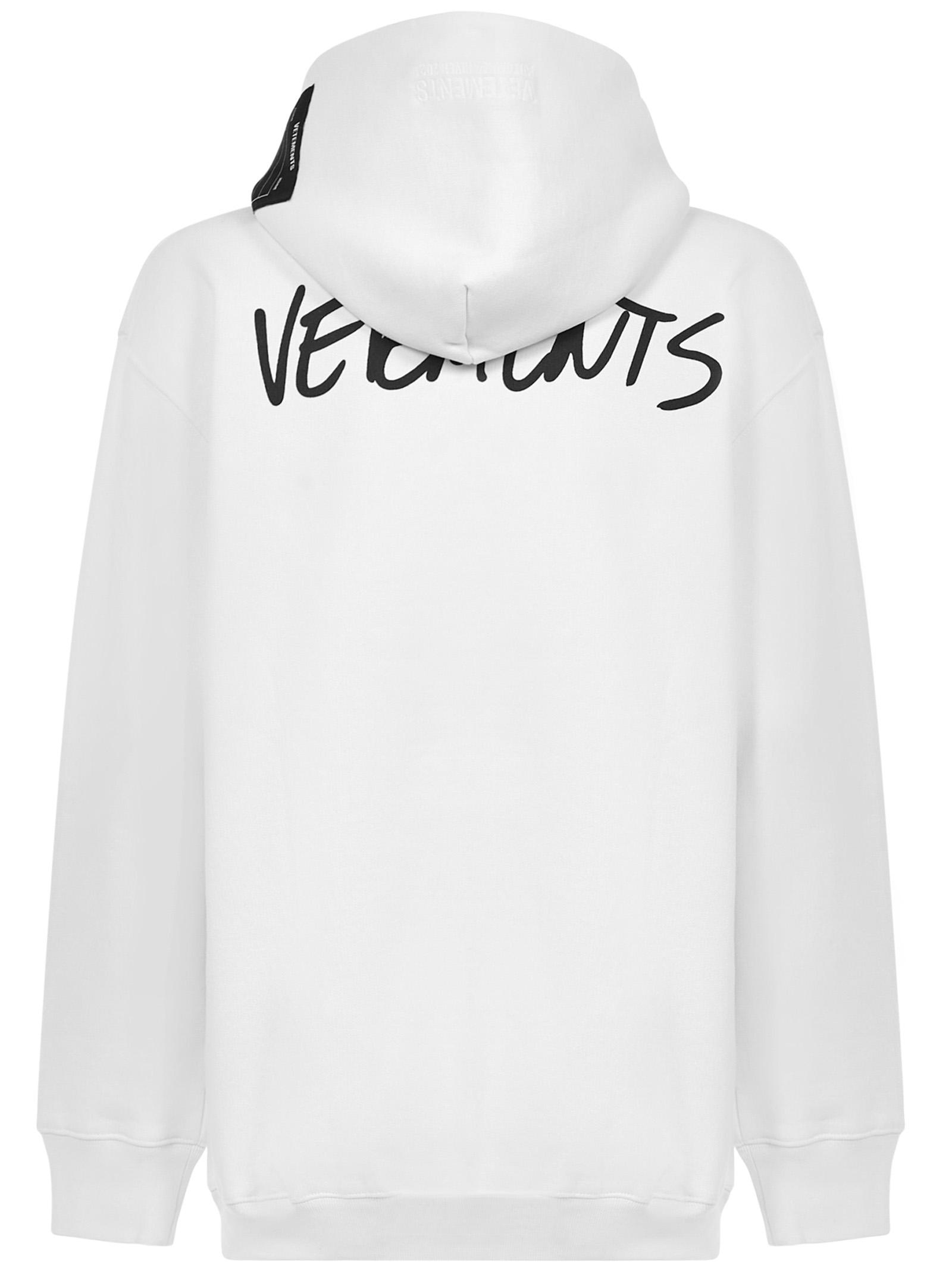 Felpa Vetements Vetements   -108764232   UAH21TR6301601WHITE