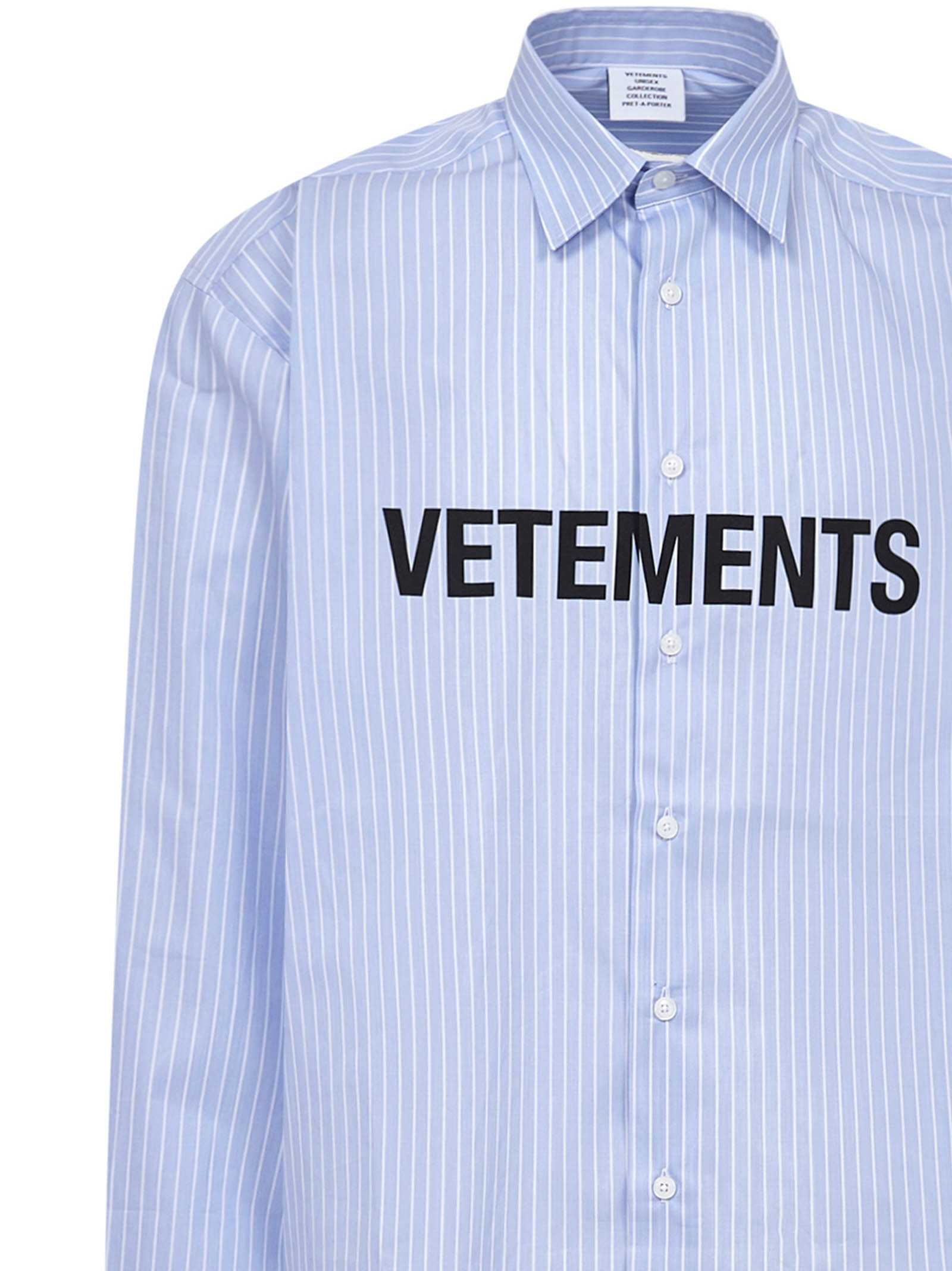 Vetements Shirt Vetements | -1043906350 | UE51SH300SLIGHTBLUE
