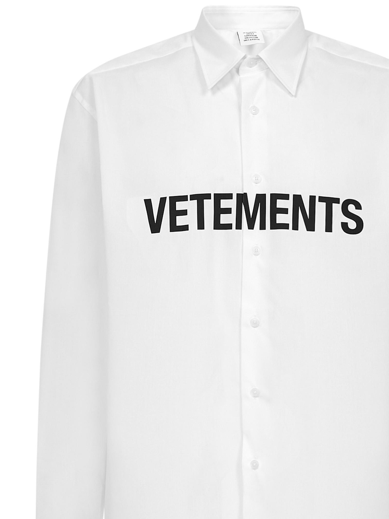 Camicia Vetements Vetements | -1043906350 | UE51SH300WWHITE