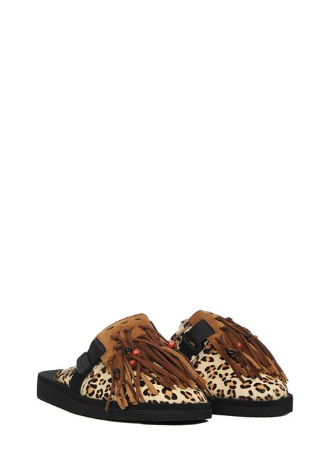 Alanui Leopard Suicoke Sandals  Alanui | 813329827 | LMIA003F20KNI0018585