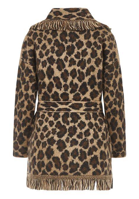 Alanui Leopard Cardigan Alanui | 39 | LWHB009E20KNI0026285