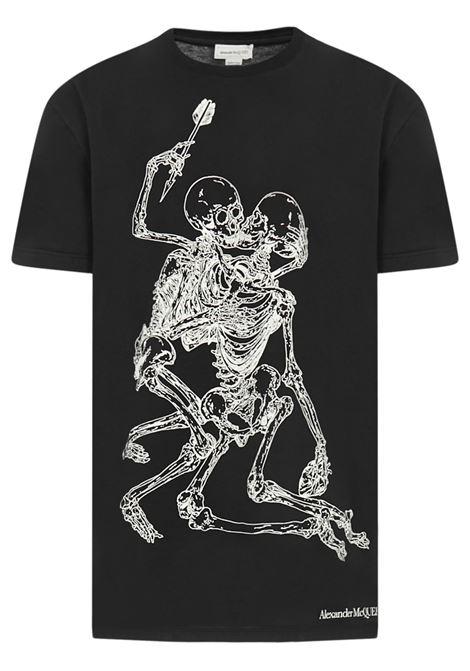 Alexander McQueen Lovers Skeleton T-shirt  Alexander McQueen | 8 | 624170QPZ600901