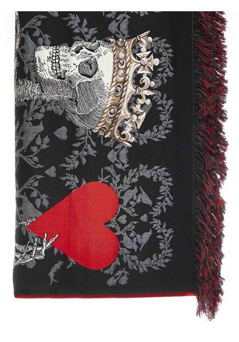 Alexander McQueen Love shawl Alexander McQueen | 1375490853 | 6397633C99Q1074
