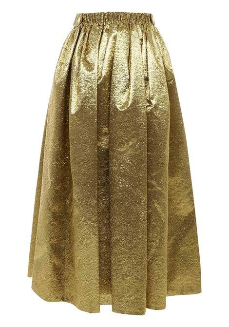 Alexandre Vauthier Midi Skirt Alexandre Vauthier   15   204SK13541362GOLD