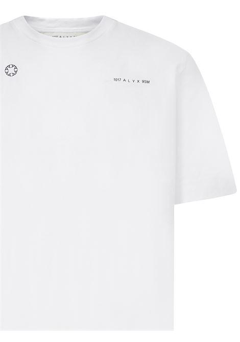 Alyx Double Logo T-shirt  Alyx   8   AAMTS0183FA01WTH