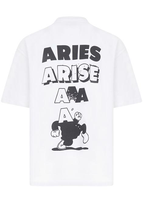 Aries Sad Planet t-shirt Aries | 8 | FRAR60009WHT