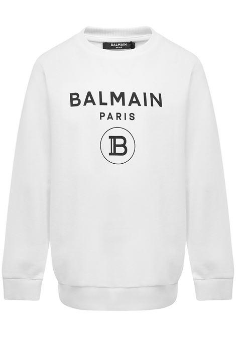 Balmain Paris Kids Sweatshirt  Balmain Paris Kids   -108764232   6M4760MX270100