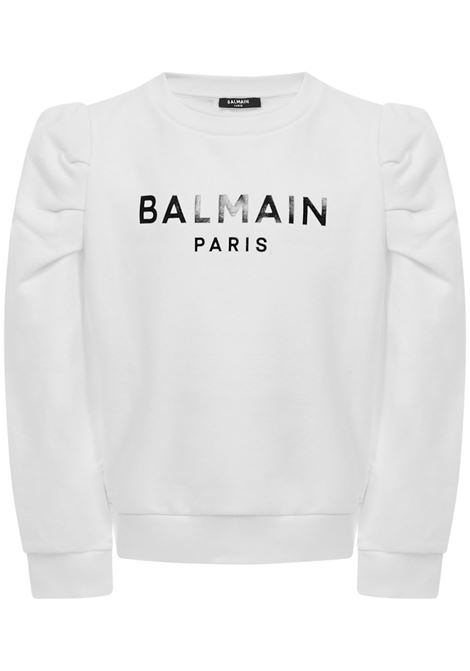 Felpa Balmain Paris Kids Balmain Paris Kids | -108764232 | 6N4030NX320100NE