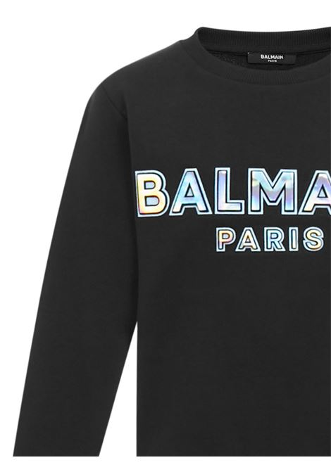 Balmain Paris Kids Sweatshirt  Balmain Paris Kids | -108764232 | 6N4580NX300930CE