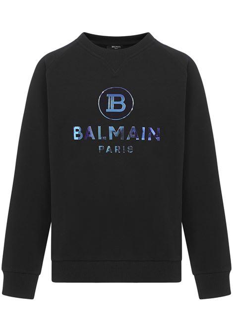 Balmain Paris Kids Sweatshirt Balmain Paris Kids | -108764232 | 6N4660NX300930