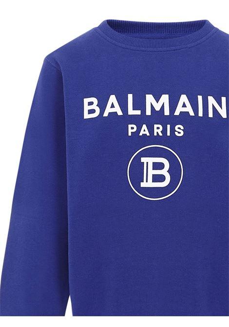Felpa Balmain Paris Kids Balmain Paris Kids | -108764232 | 6N4670NX300616BC