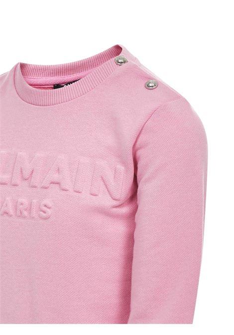 Balmain Paris Kids Sweatshirt  Balmain Paris Kids | -108764232 | 6N4840NX300516
