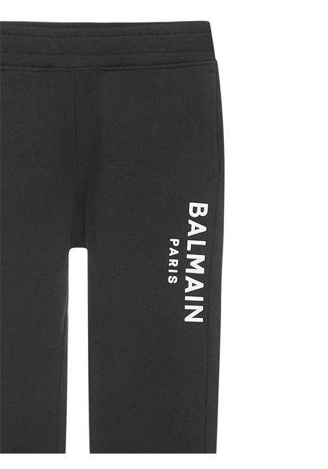 Balmain Paris Kids Trousers  Balmain Paris Kids | 1672492985 | 6N6647NX300930BC