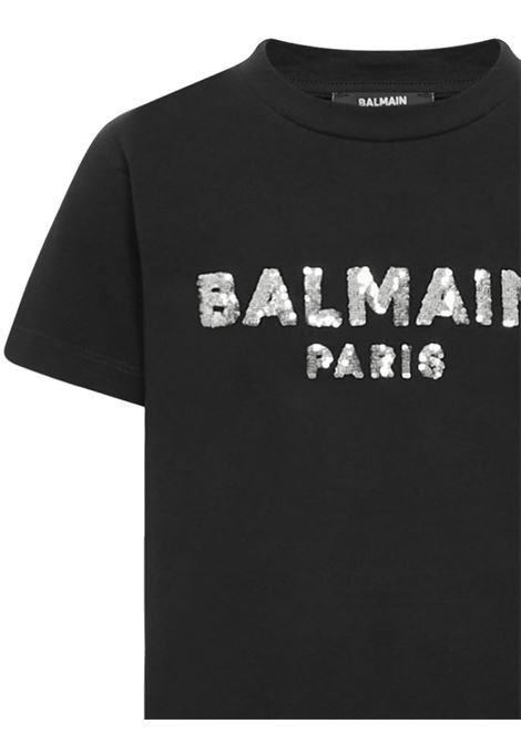 Balmain Paris Kids T-shirt  Balmain Paris Kids | 8 | 6N8041NC610930AG