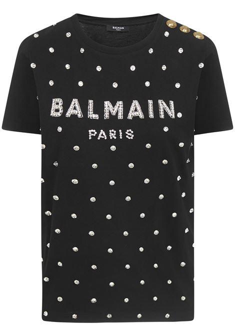 Balmain Paris T-shirt  Balmain Paris | 8 | UF11350P001EAW