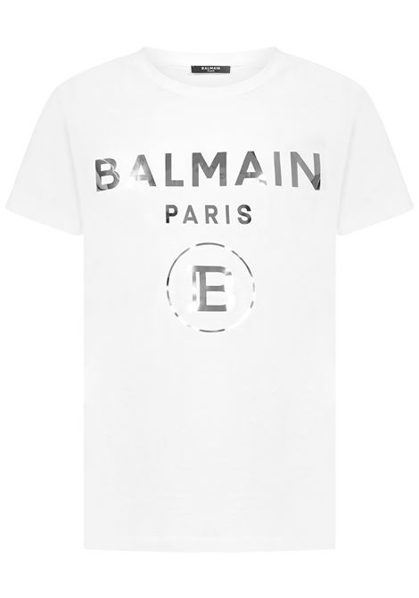 T-shirt Balmain Paris Balmain Paris   8   UH01601I3400FA