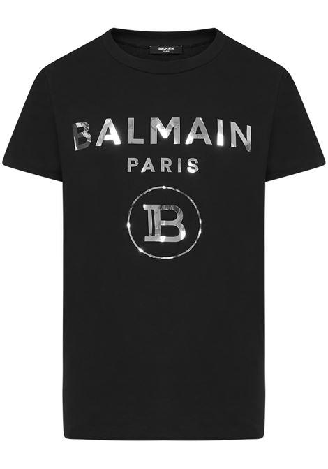 T-shirt Balmain Paris Balmain Paris   8   UH01601I3400PA