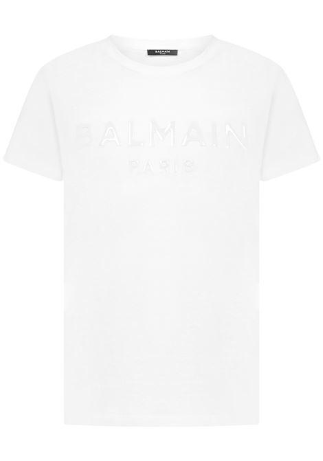 T-shirt Balmain Paris Balmain Paris   8   UH01601I3640FA