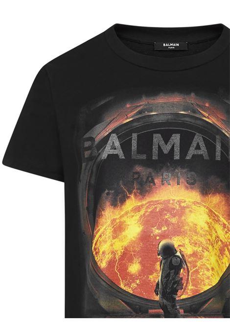 T-shirt Astronaut Balmain Paris Balmain Paris   8   UH01601I371AAA