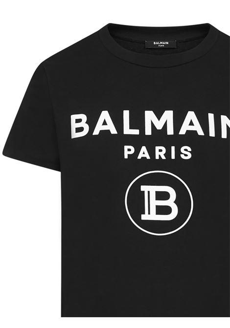 T-shirt Balmain Paris Balmain Paris   8   UH01601I3940PA