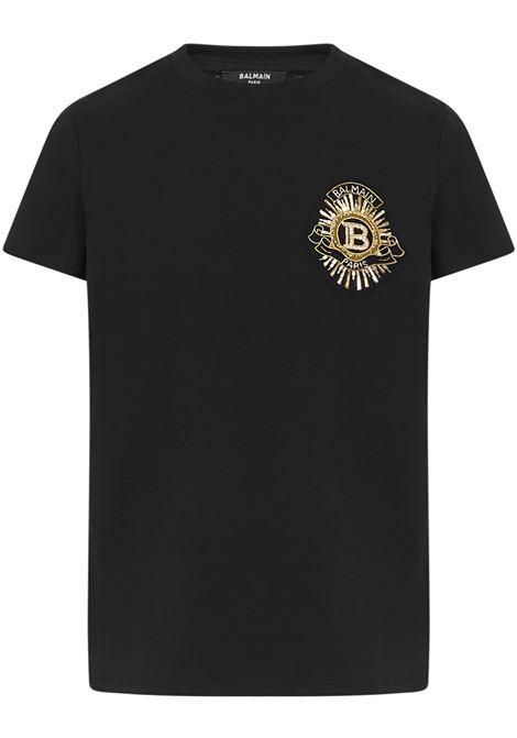 T-Shirt BALMAIN PARIS Balmain Paris   8   UH01601J0390PA