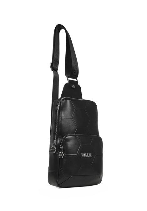 BALR. Hexagon AOP Shoulder Bag Balr. | 77132929 | B10631BLACK