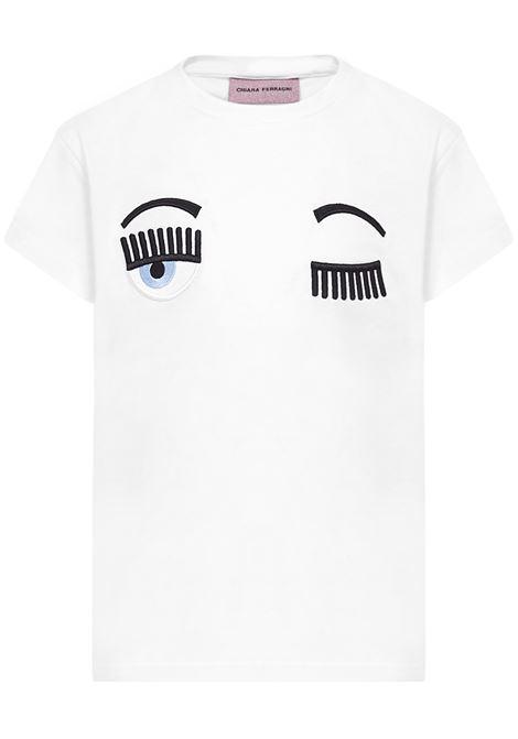 T-Shirt Flirting Chiara Ferragni Kids Chiara Ferragni kids | 8 | CFKT005BIANCO