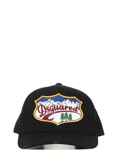Dsquared2 Logo Mountain Cap Dsquared2   26   BCM037305C000012124
