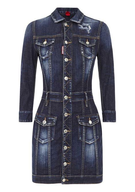Dsquared2 Twiggy Mini Dress Dsquared2 | 11 | S75CV0303S30685470