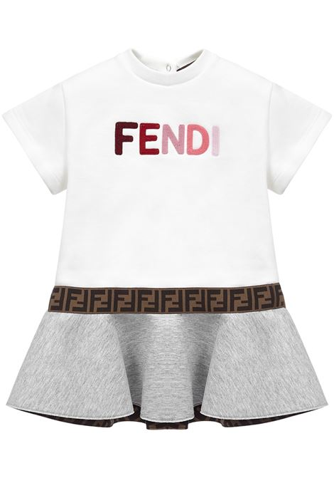 Fendy Kids Dress Fendi Kids | 11 | BFB338ADGEF0EUF