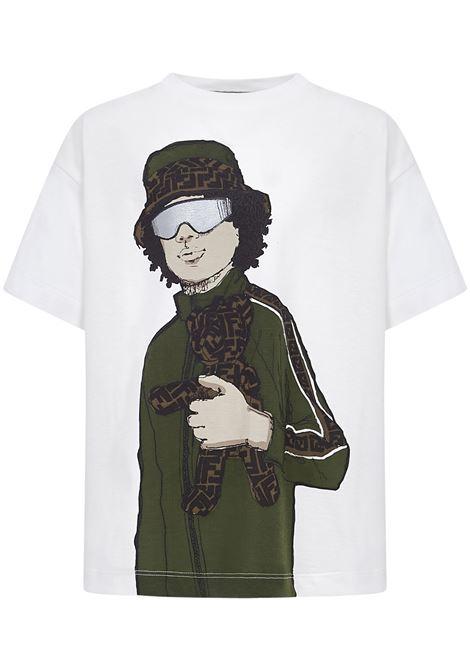 Fendi Kids T-Shirt Fendi Kids | 8 | JMI3317AJF0TU9