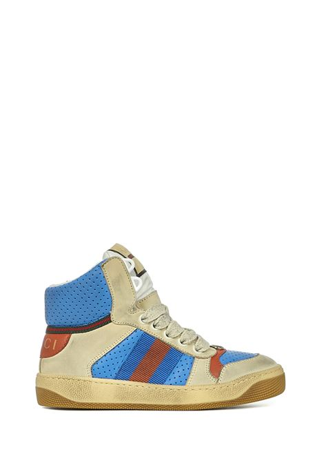 Gucci Kids Screener Sneakers Gucci Junior | 1718629338 | 6308150YI809561