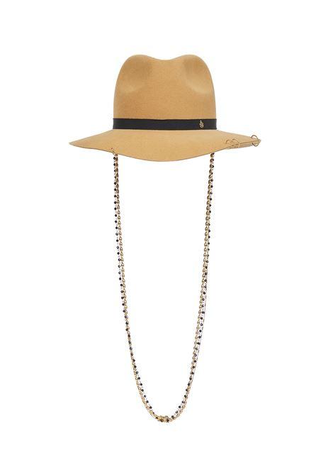 Maison Michel Henrietta Hat  Maison Michel | 26 | 1002085001SUGARBROWN