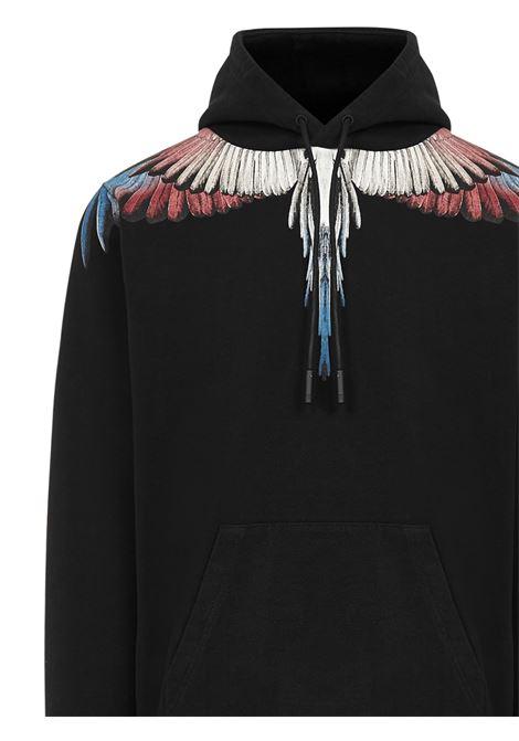 Marcelo Burlon Burgundy Wings sweatshirt Marcelo Burlon | -108764232 | CMBB007F20FLE0011028