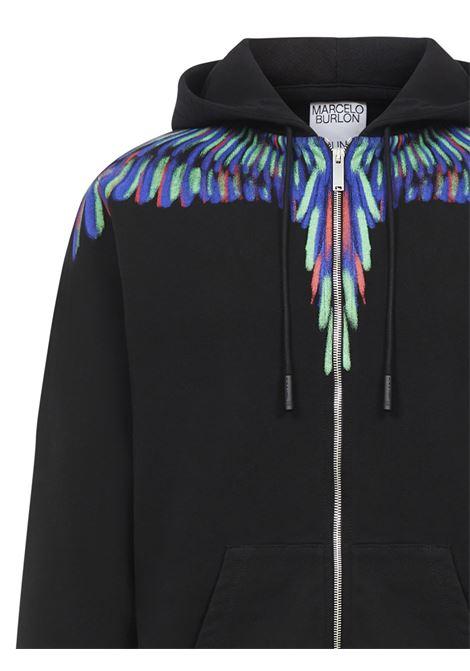 Marcelo Burlon Chalk Wings sweatshirt  Marcelo Burlon | -108764232 | CMBE001E20FLE0031050