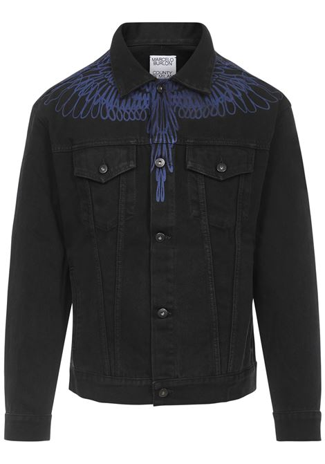 Marcelo Burlon Pictorial Wings Jacket  Marcelo Burlon | 13 | CMYE001E20DEN0031045