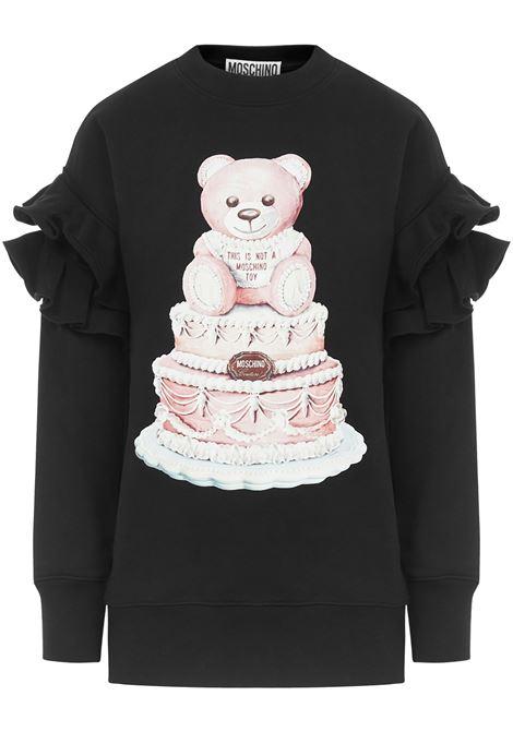 Moschino Cake Teddy Bear Sweatshirt  Moschino | -108764232 | V170654271555