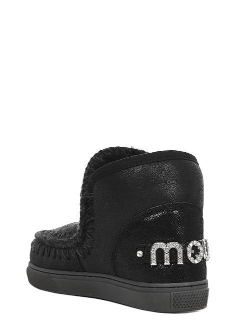 Sneakers Mou Eskimo Sneaker Rhinestone Logo Mou | -679272302 | MUFW111020BCBKG