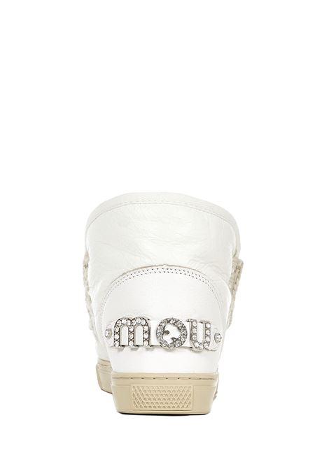 Sneakers Mou Eskimo Sneaker Rhinestone Logo Mou | 1718629338 | MUFW111020CWXWHI