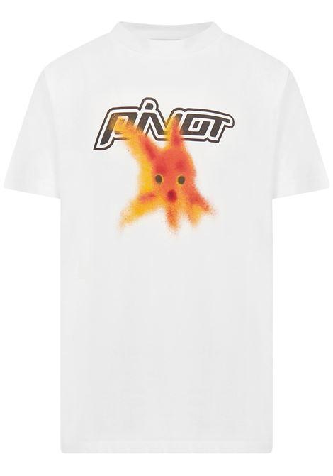 Off-White Plastic Fish T-shirt  Off-White | 8 | OMAA027E20JER0180125