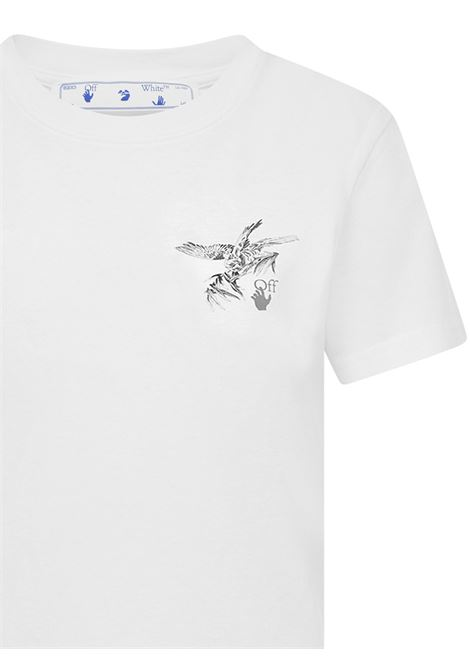 Off-White Reflective Brids T-shirt Off-White   8   OWAA049F20JER0050109