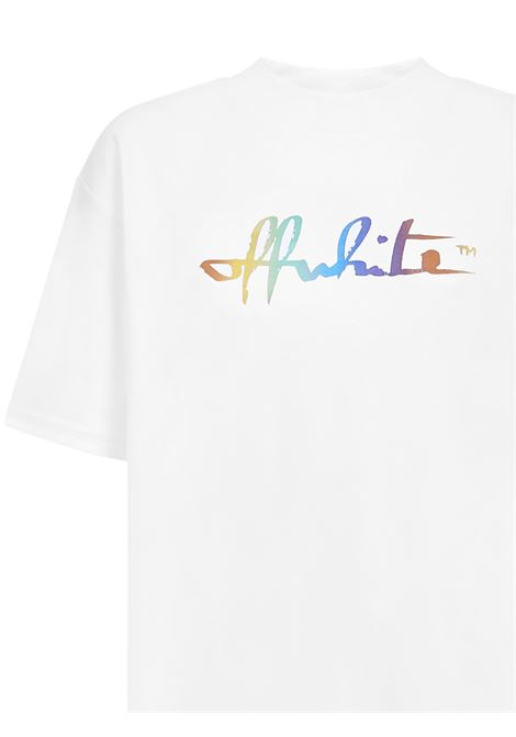 Off-White Rainbow t-shirt Off-White   8   OWAA072F20JER0010184