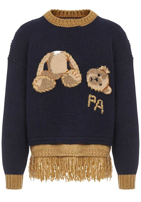 Palm Angels Bear Sweater  Palm Angels | 7 | PMHE019E20KNI0014660