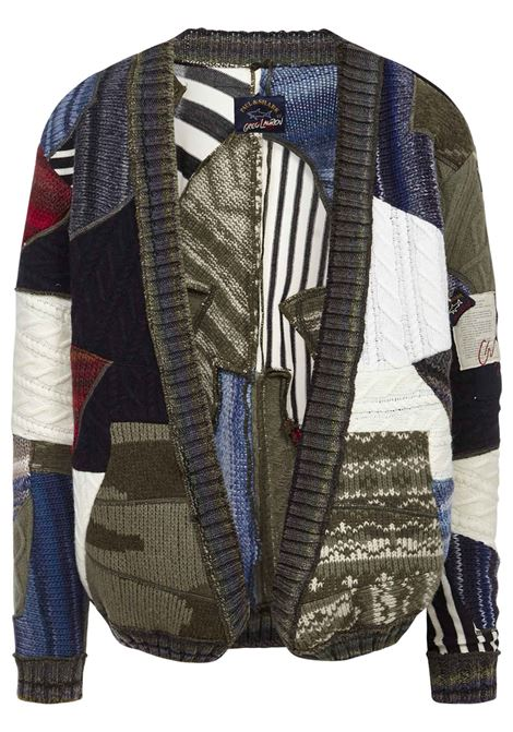 Paul&Shark by Greg Lauren Cardigan Paul&Shark by Greg Lauren | 39 | I20P1538MULTI