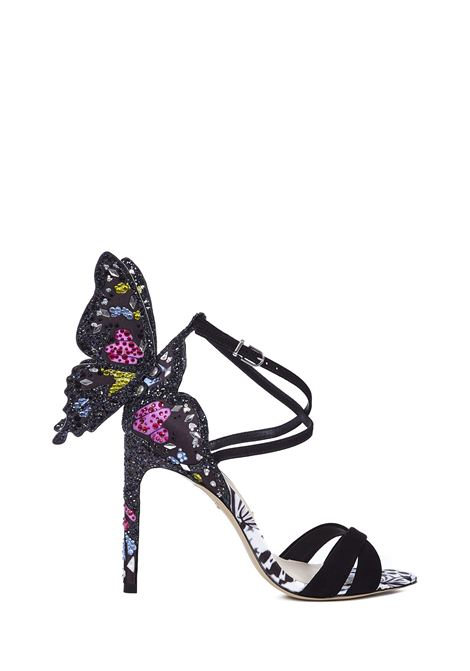 Sophia Webster Chiara Sandals Sophia Webster | 813329827 | FAW20023BLACKMULTI