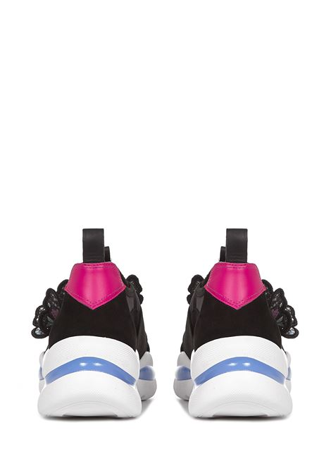 Sophia Riva Webster Sneakers  Sophia Webster | 1718629338 | FAW20234BLACKMULTI