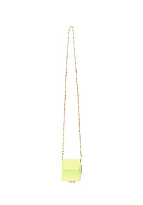 Tubici Parigi Neck bag  Tubici | 357 | PARIGI011YELLOWFLUO