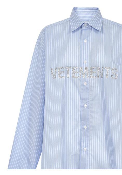 Vetements shirt Vetements | -1043906350 | UAH21SH0671012LIGHTBLUEWHITE