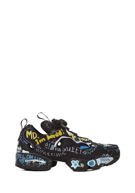 Vetements Instapump Fury Graffiti Sneakers Vetements | 1718629338 | UAH21SN244BLACK